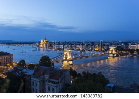 Budapest,Hungary - stock photo