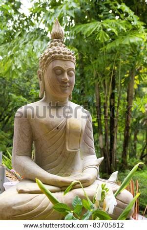 Buddha,buddha face. - stock photo