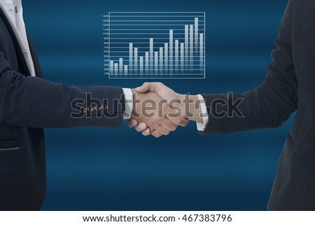 business man shaking hands