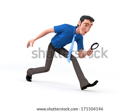 Business Searching - stock photo