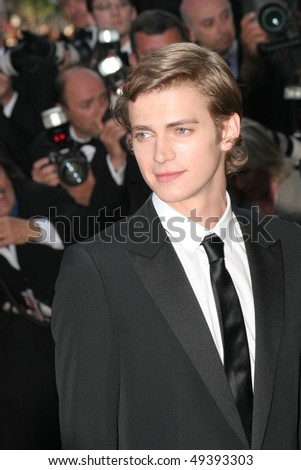 CANNES, FRANCE - MAY 15: Actor Hayden Christiansen attends a screening of ' Star War III' at the Grand Theatre during the 58th International Cannes Film Festival May 15, 2005 in Cannes, France