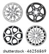 Car Rim Series - 5 - stock photo