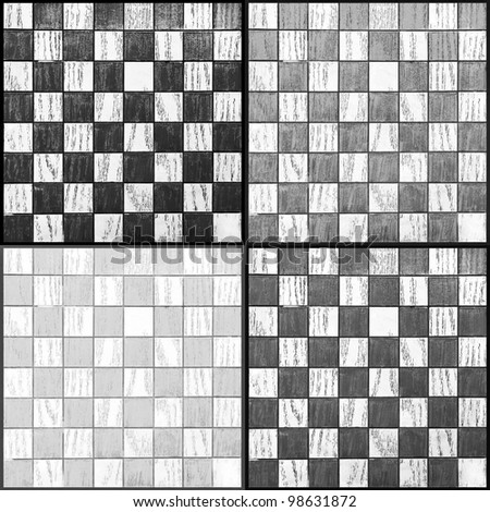 4 Chessboards in one picture
