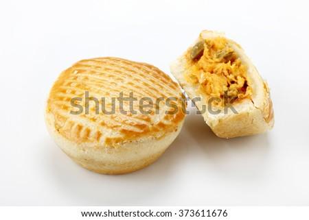 chicken patty- A brazilian snack - stock photo