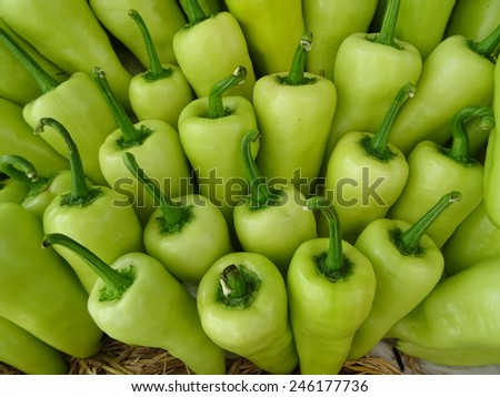 chilli for background - stock photo