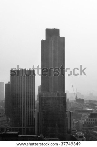 cityscape of London. - stock photo