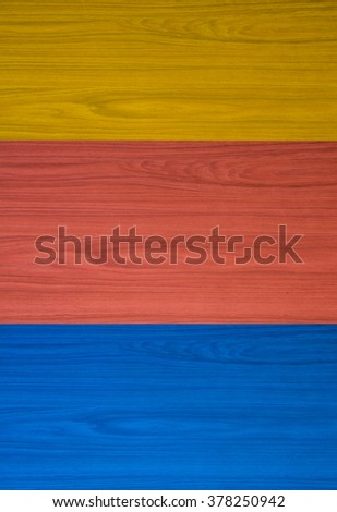 3 Color wooden texture horizontal