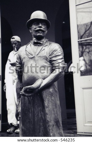 Cook Statue in New Orleans - stock photo