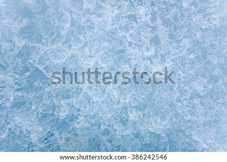Crystal ice background