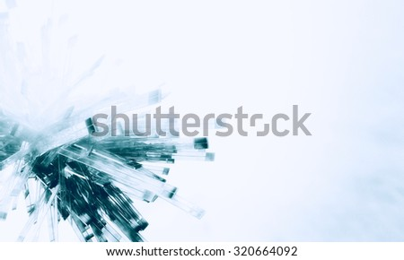 3D abstract background design - stock photo