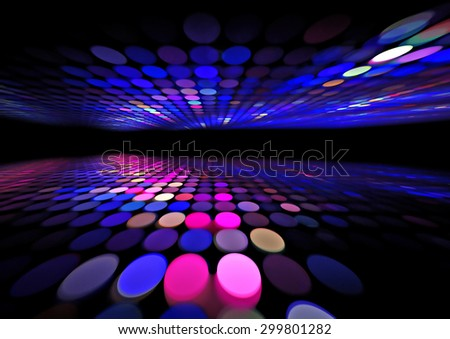 3d abstract grid dots background texture - stock photo