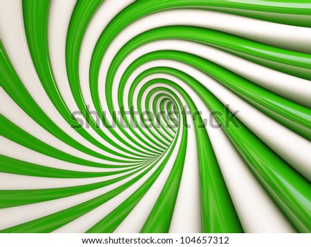 3d Abstract Spiral Background - stock photo