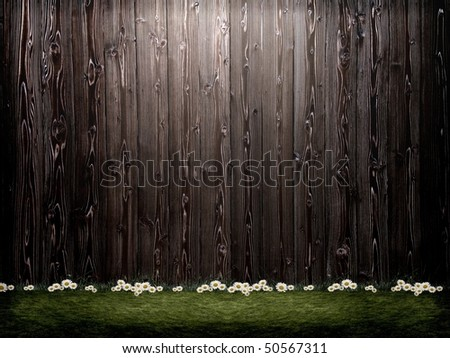 3D background image - stock photo