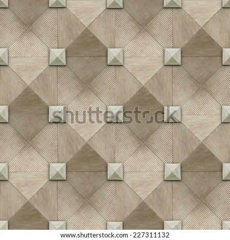 3d background, squares, triangles, seamless  - stock photo