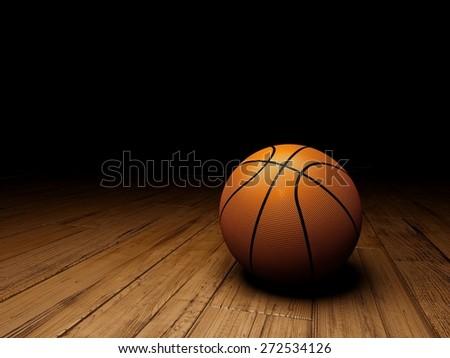 3D. Basketball, Basketball, Sport. - stock photo