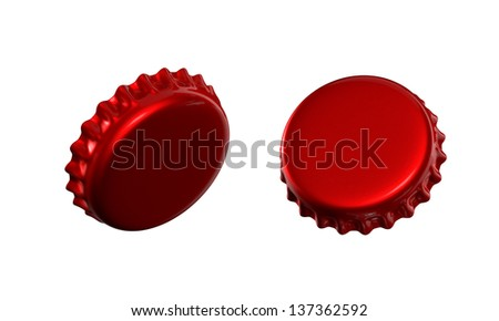 3d bottle cap top