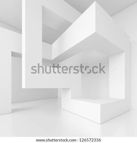 3d Building Blocks - stock photo