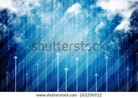 2d business background - stock photo