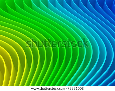 3d colorful abstract background