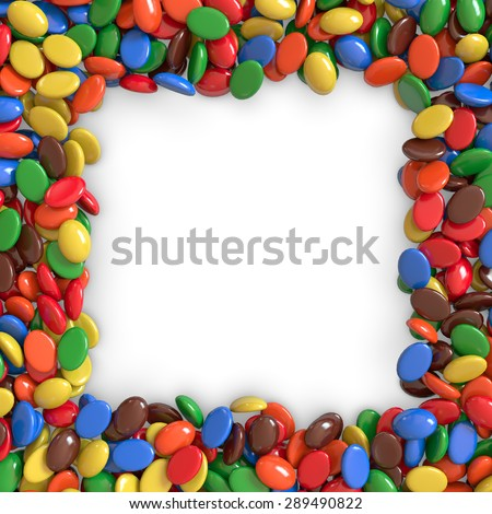 Colorful Candy Border | www.pixshark.com - Images ...