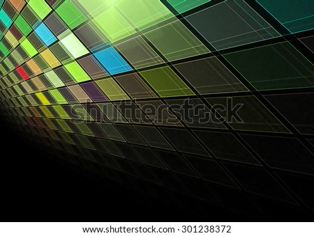 3d colorful grid background texture - stock photo