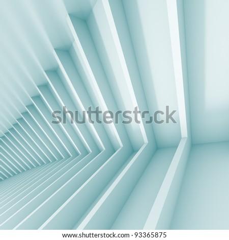 3d Conceptual Architecture - stock photo