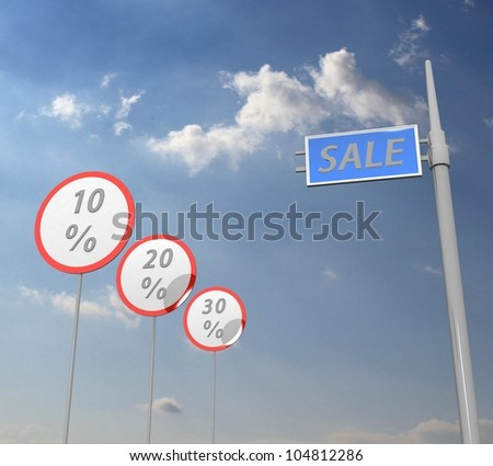 3d Discount traffic signs