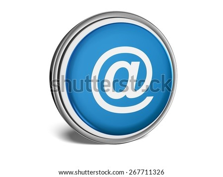 3D. E-Mail, Symbol, Email. - stock photo