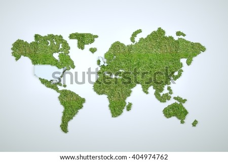 Image vector world map stock vector 273764192 shutterstock 3d earth in motion nice 3d render gumiabroncs Images
