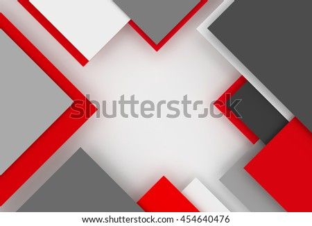 3D generated colorful abstract illustration as background - stock photo