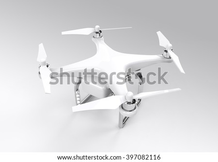 3D Illustration Drone