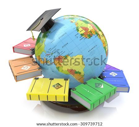 3d illustration of Education  - stock photo