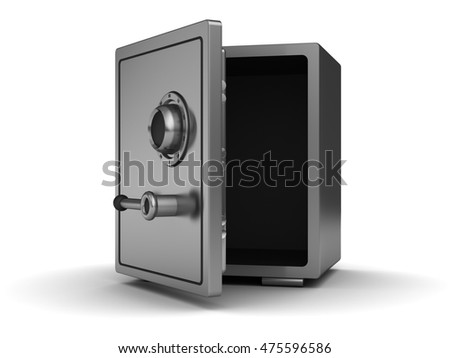 Empty Safe Stock Photos, Royalty-Free Images & Vectors - Shutterstock