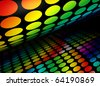 3d image of abstract colorful background - stock photo
