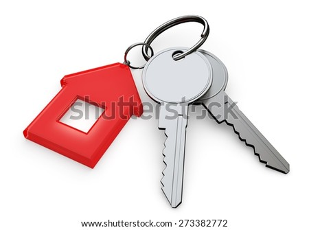 3D. Key, Symbol, Security.