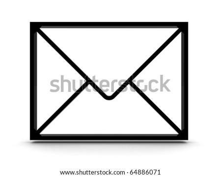 3D letter - stock photo
