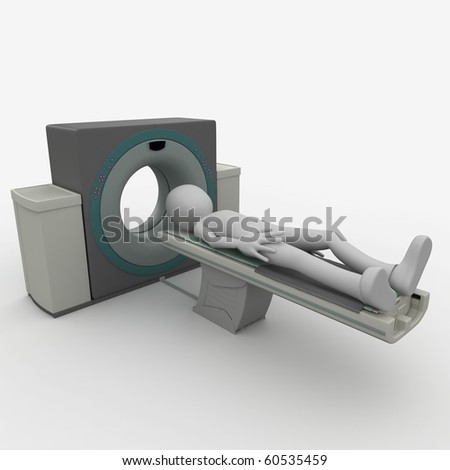 3d man - stock photo