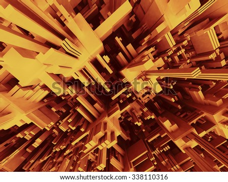 3D Modern abstract Structure