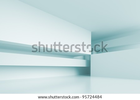 3d Modern Architecture Design - stock photo