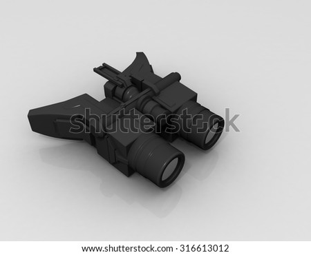 3d night vision device