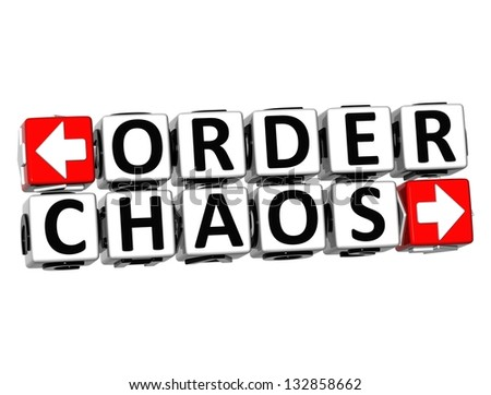 Chaos Order Stock Photos Images Amp Pictures