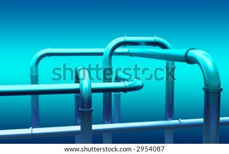 3d--pipeline--background - stock photo