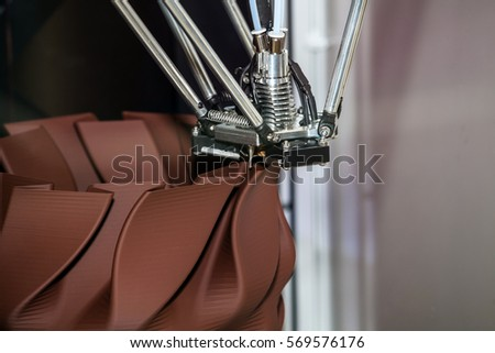 Working 3d printer stock photo 326495312 shutterstock 3d printing process