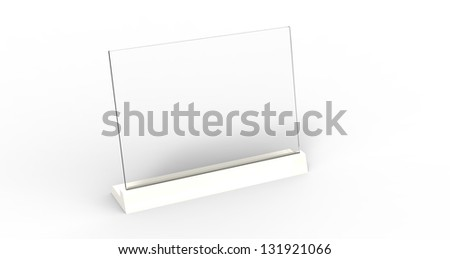 3d render of a modern  futuristic computer touch screen - stock photo
