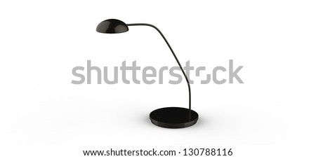 3d render of a Office Desk Lamp - stock photo