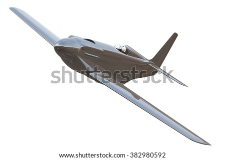 3d Render of Air Racer - stock photo