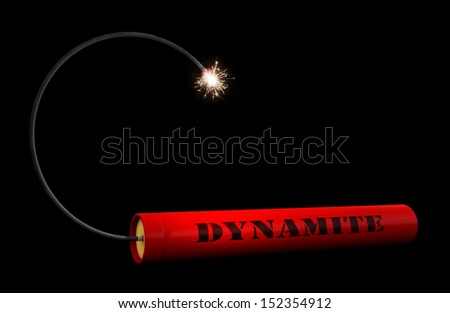 Stick of dynamite Stoc...