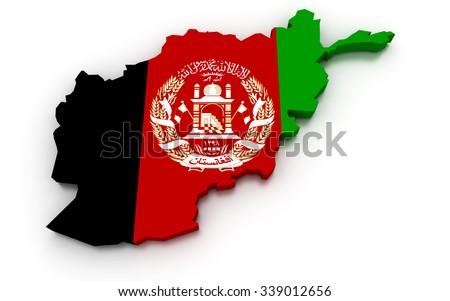Afghanistan Map Stock Images RoyaltyFree Images Vectors - Afghanistan map