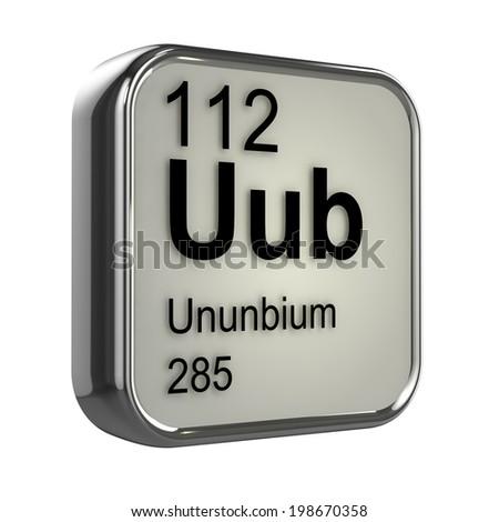 3 d render ununbium periodic table element stock illustration 3d render of ununbium periodic table element design urtaz Choice Image
