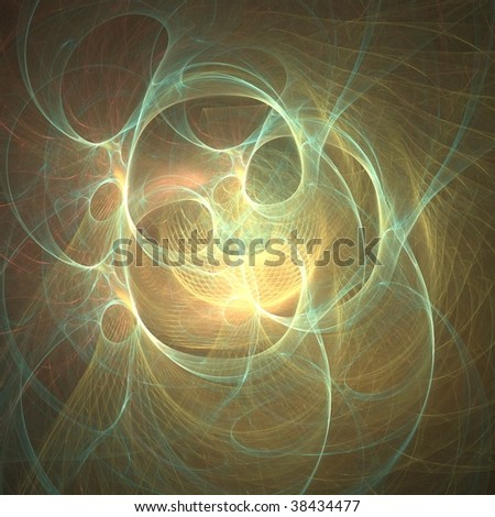 3D rendered Fractal for background.